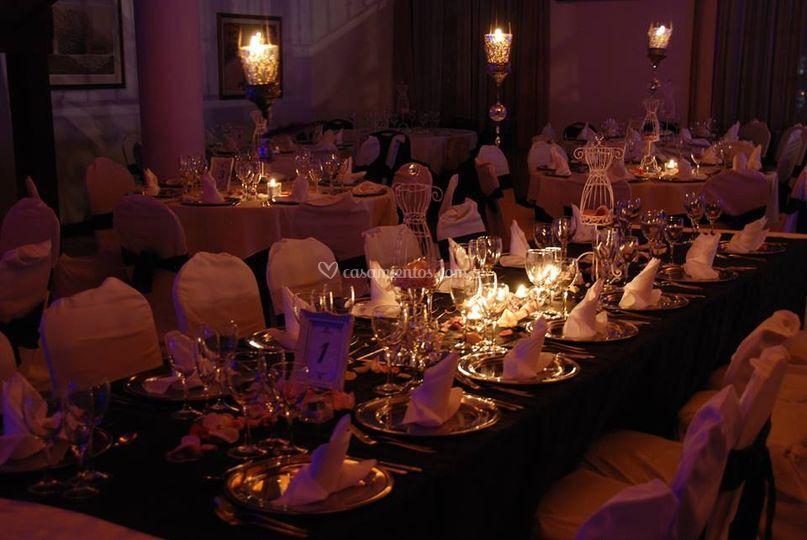 Mesas decoradas majesty