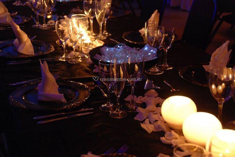 Decoración de mesas majesty