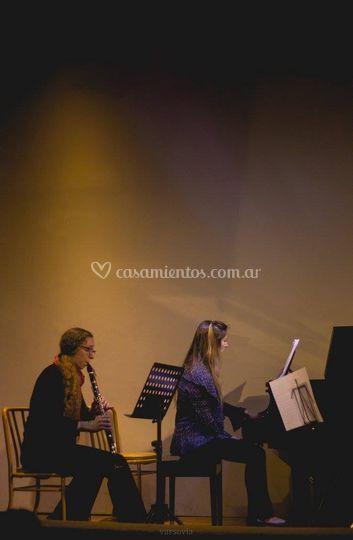 Clarinete y piano