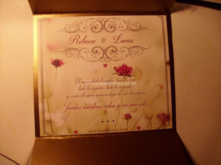 Invitaciones de boda y 15 años