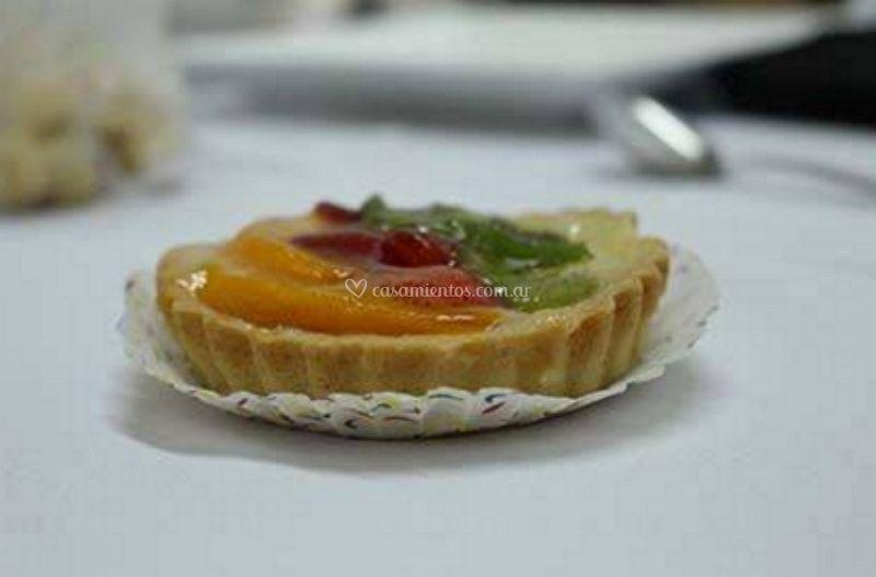 Mini tarta frutal