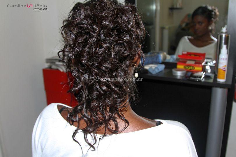 Peinado recogido Serena Calma