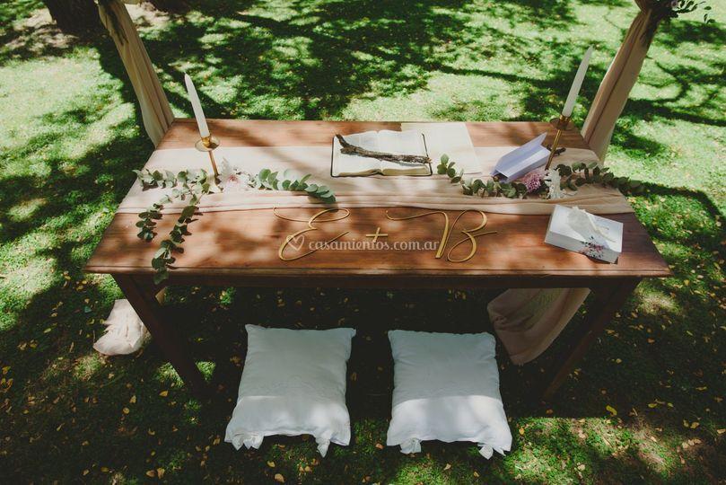 Ceremonia personalizada