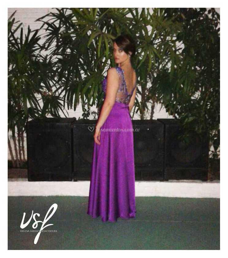 Vestido dama de honor de Vanesa Santafe Alta Costura | Foto 42