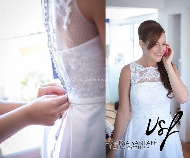 Vestido novia/ piel de angel