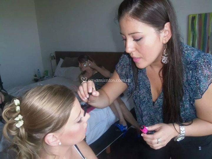 Maquillaje a novia