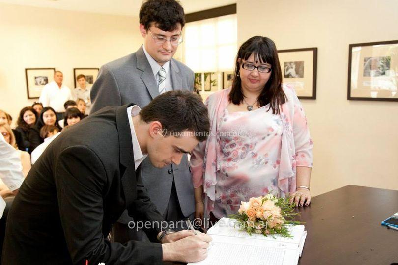 Casamientos civiles