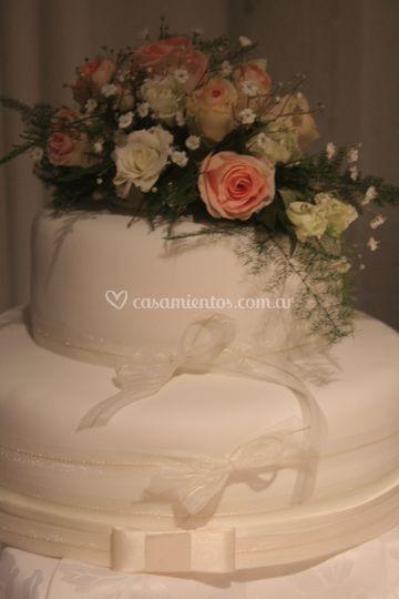 Torta de boda bouquet