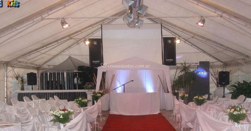 Ornamentación para bodas
