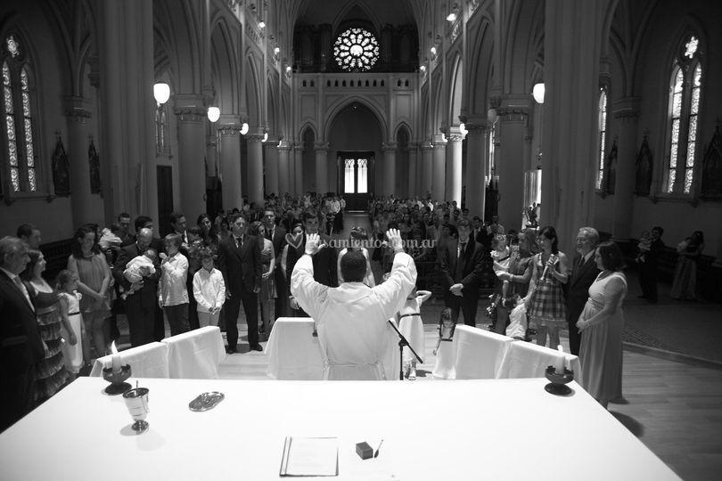 Casamiento en catedral