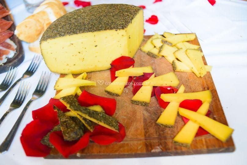Presentación isla quesos