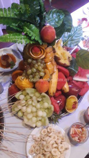 Fuente de frutas