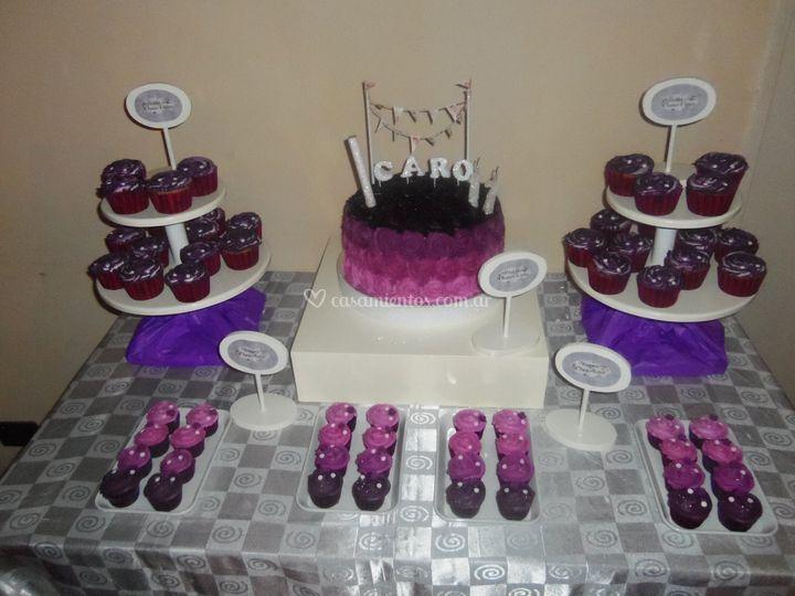 Mesa dulce swirl rose ombre