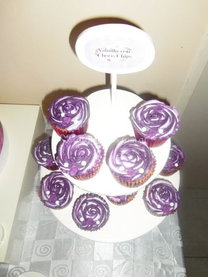 Cupcakes rose style