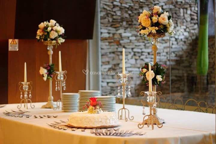 Topiarios mesa principal