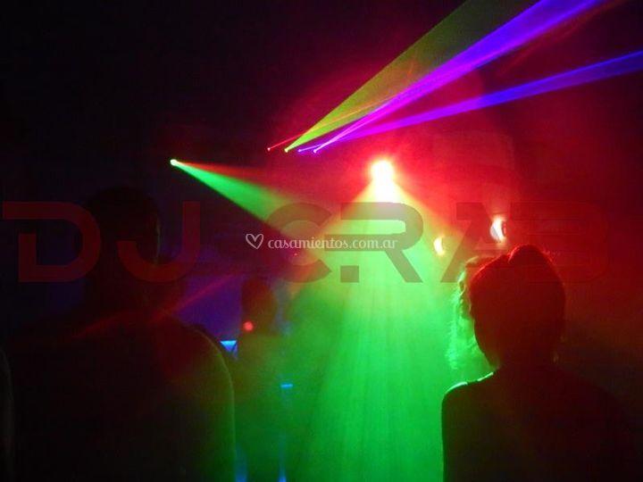 Iluminación láser