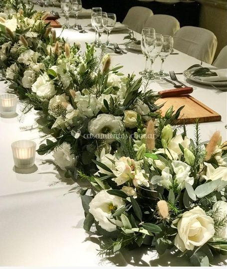 Mesa principal bouquet