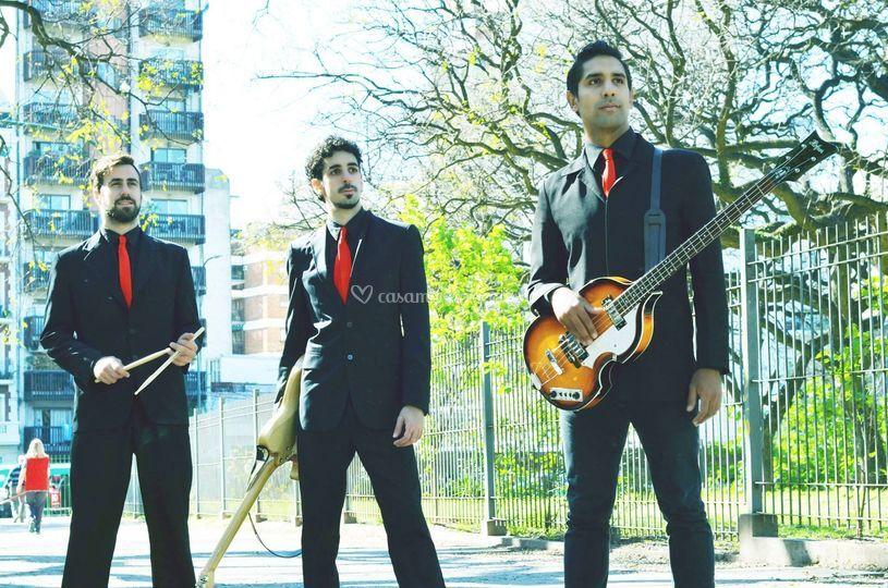 Power trío de The Rollbeats