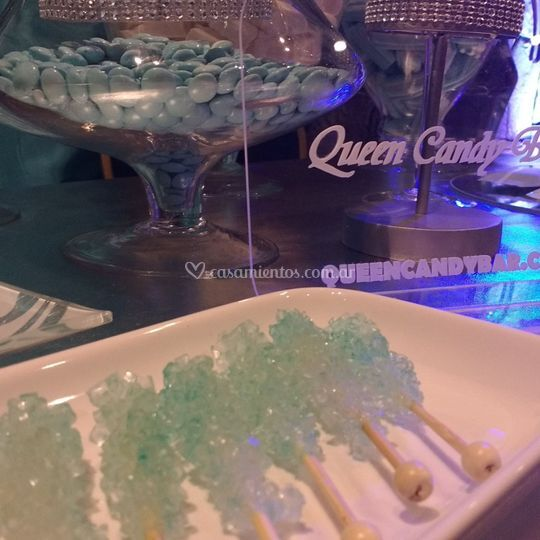Candy bar verde Tiffany