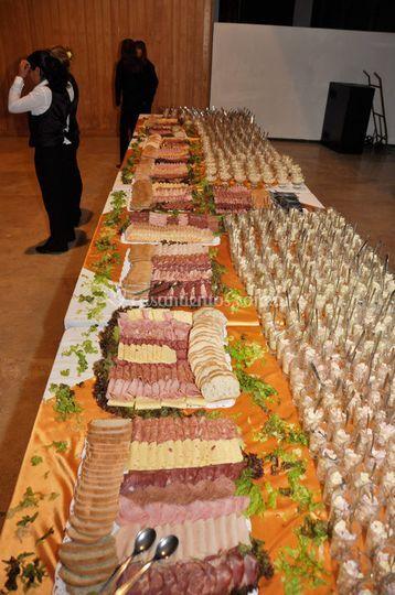 Deliciosos banquetes