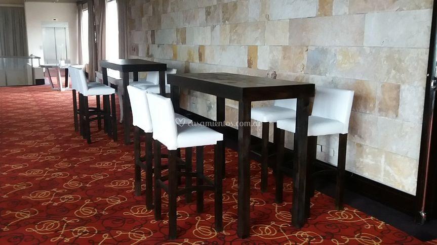 Mesas altas wengue