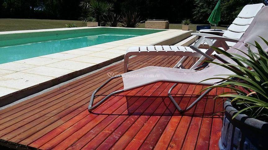 Solarium con deck