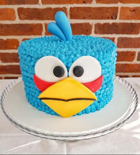 Torta buttercream Angry Birds