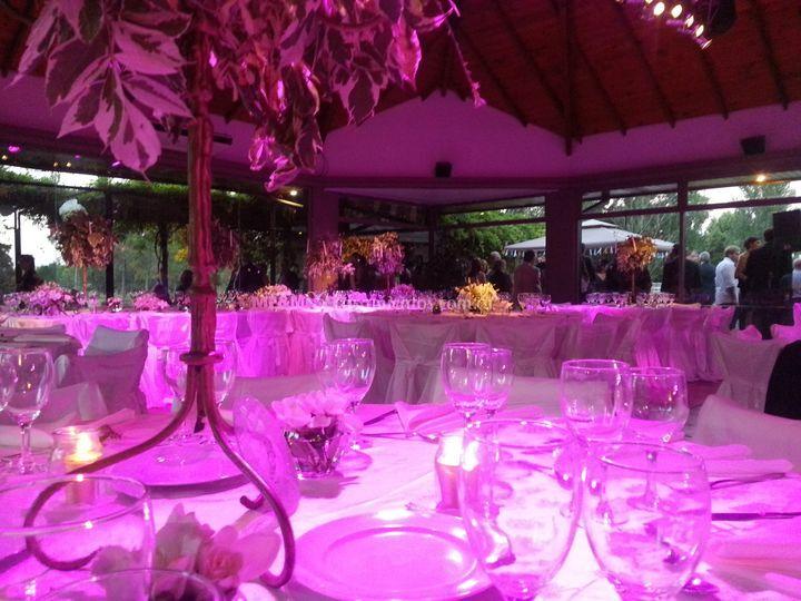 Iluminación para mesas