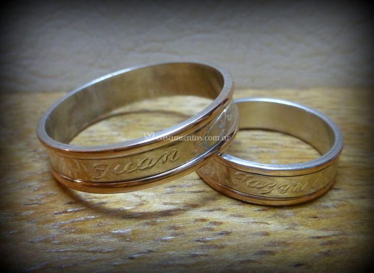 Plata y oro