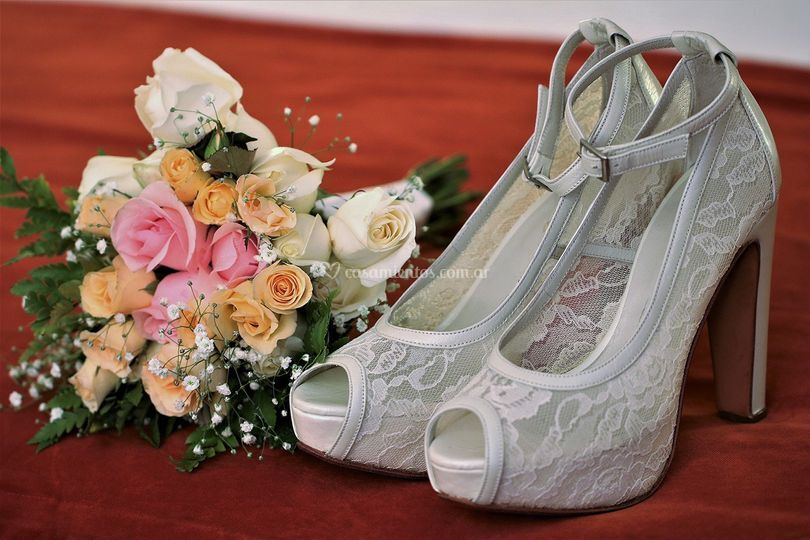 Ramo de novia & zapatos