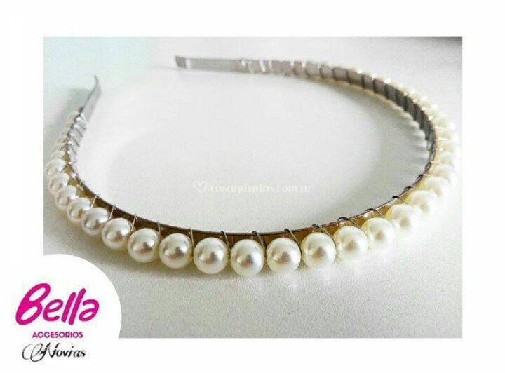 Vincha de perlas