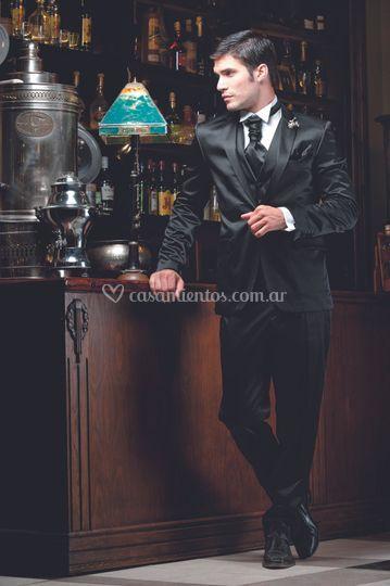 Smoking Raso Turco de Gonzalez Exclusivo