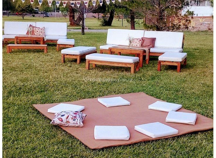 Livings y alfombras picnic