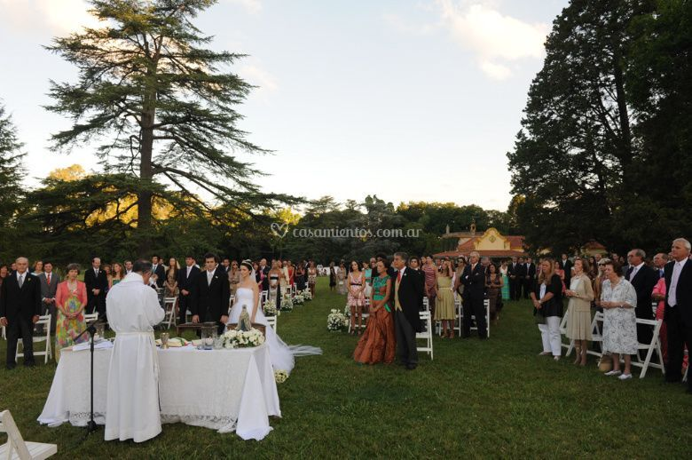Ceremonia bendición