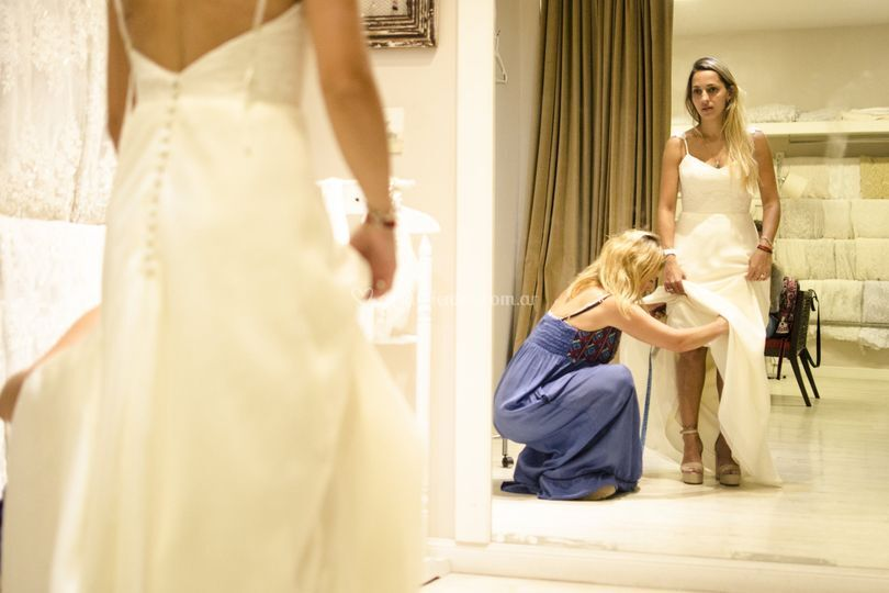 Casas de vestidos de novia en capital federal