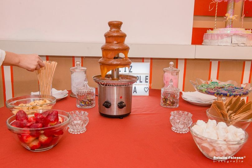 Mesa catering dulce