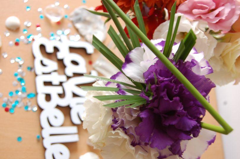 Bouquet lisianthus