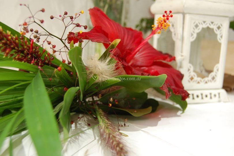 Bouquet silvestre rosa china