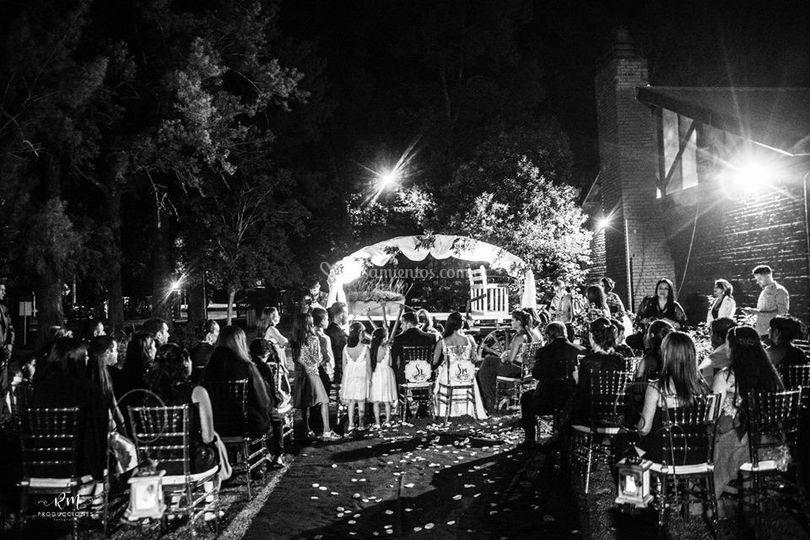 Noche perfecta de boda