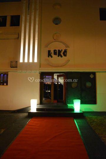 Frente de Koko Eventos