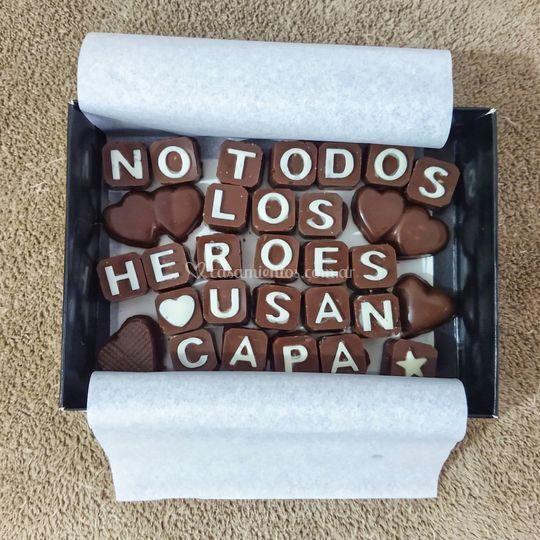 Chocolates rellenos