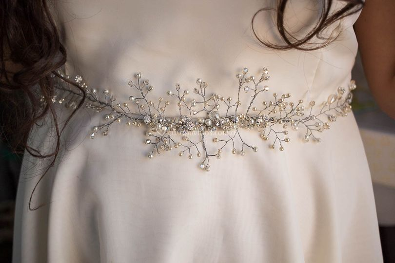 Cinturón tejido