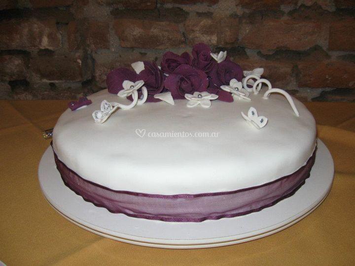 Torta de rosas