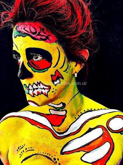 Maquillaje Melanie Díaz