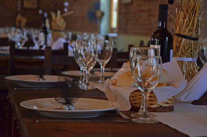 Otras mesa de invitados