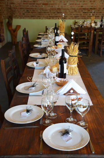 Otras mesas de invitados