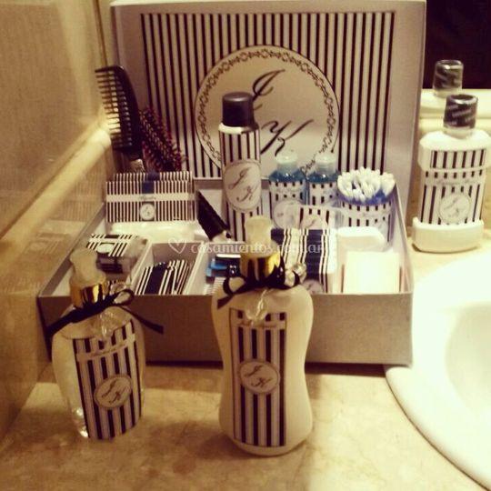 Kit personalizado para el baño