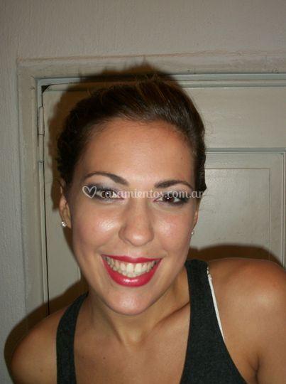 Back maquillaje novia
