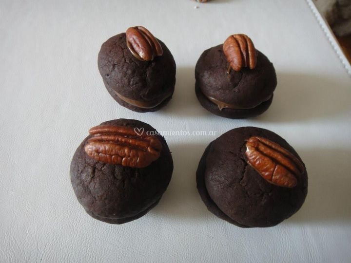 Whoopies de chocolate