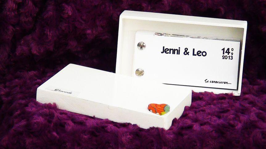 Flipbook con caja souvenir